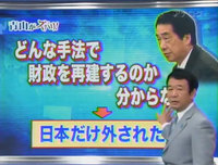 どんな手法で財政を再建するのかわからず、日本だけが例外扱い!