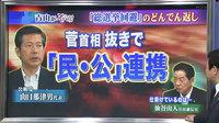 「総選挙回避」のどんでん返し=菅首相抜きで「民・公」連携。仕掛けているのは仙谷由人