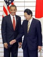 鳩山由紀夫、オバマ大統領にしかとされ・・・