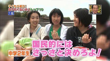 鳩山由紀夫=子どもが選ぶ!こんな大人になりたくない有名人第1位!7
